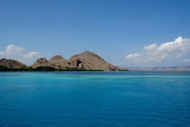 Komodo dalış için bir cennet