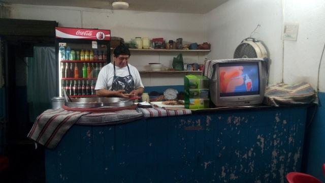 meksika`da yediğim en iyi taco`yu bu mütevazı lokantada yedim